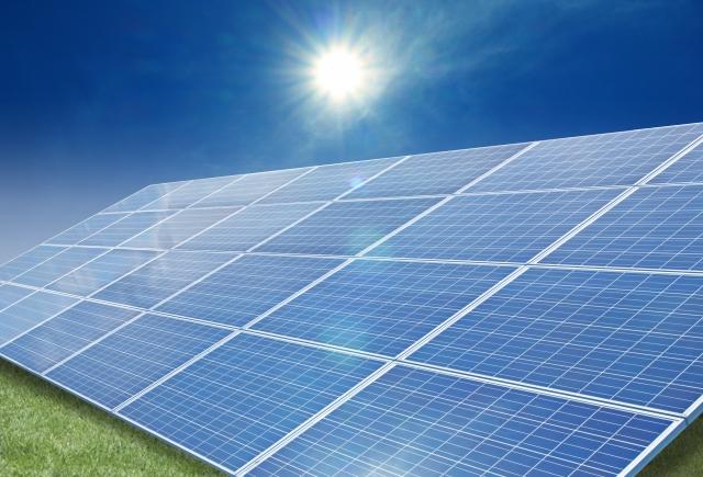 太陽光発電の積極投資